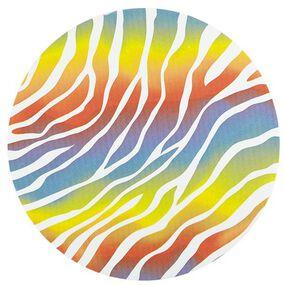 Wilton 12 in. Rainbow-Colored Zebra Print Cake Boards 3 Ct. 2104-0397