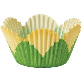 Yellow Petal Mini Baking Cups
