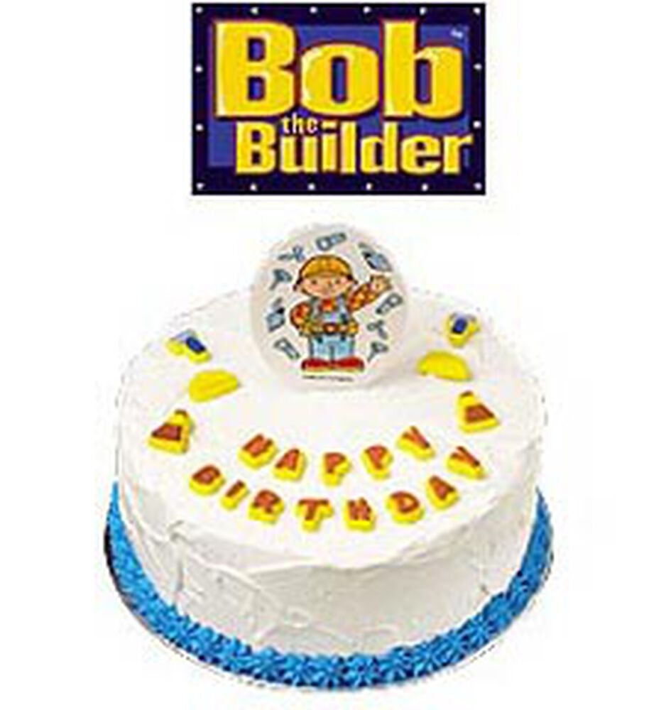 Bob the Builder Edible Cake Decoration Set Wilton