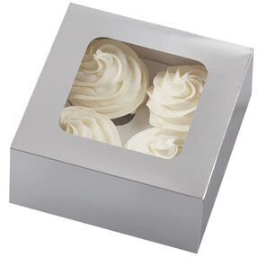 Medium Silver Treat Boxes