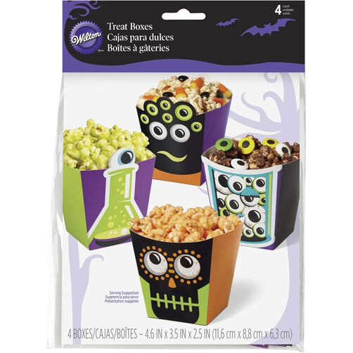 Monster Popcorn Treat Boxes