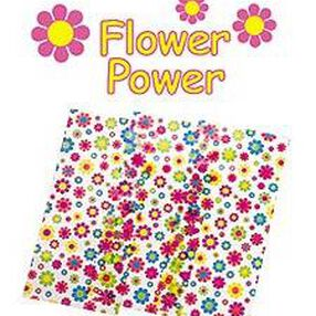 Flower Power Treat Bags with Ties