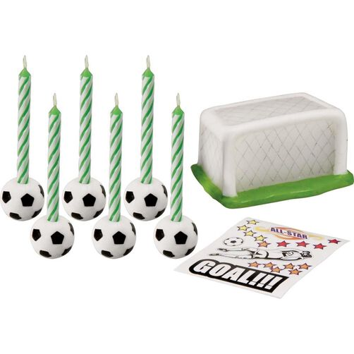 Soccer Candle Set