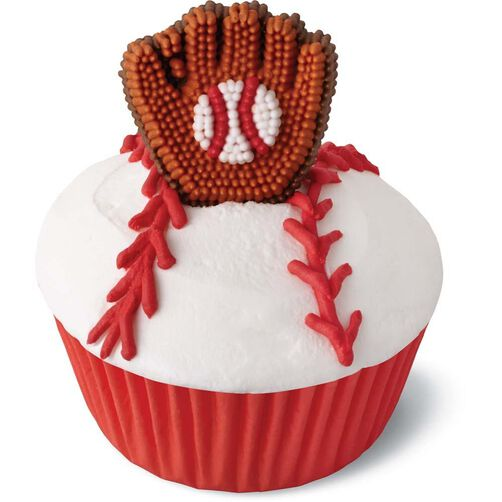 baseball mitt candy decorations | wilton