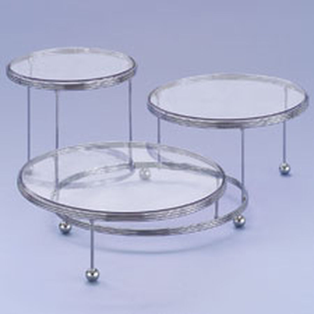 Cakes N More 3 Tiered Party Stand Replacement Plates