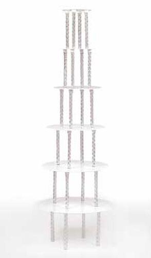 Crystal-Clear Cake Divider Set