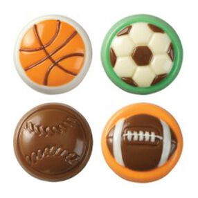 Sports Cookie Candy Mold