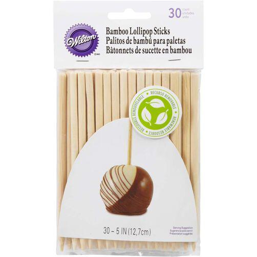 """5"""" Bamboo Lollipop Sticks"""