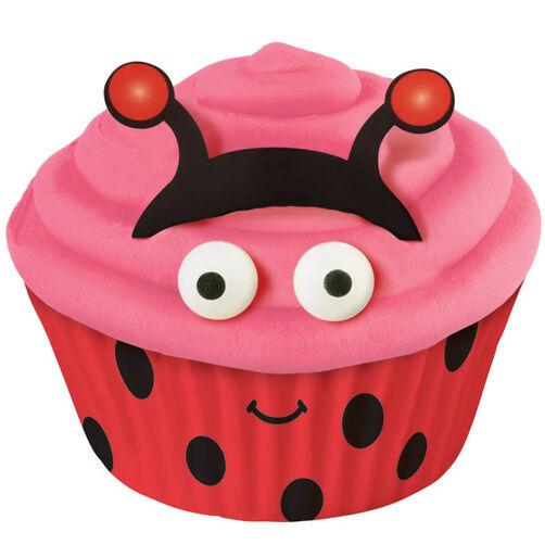 Ladybug Cupcake Decorating Kit