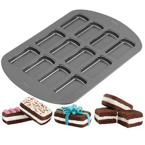 Wilton 12-Cavity Treatwiches Mini Cake Pan 2105-3648