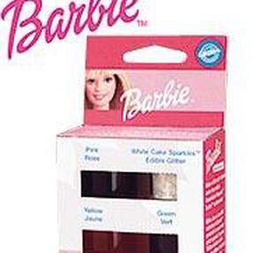 Barbie 4 Color Icing/Glitter Kit
