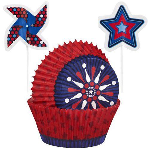 Patriotic Cupcake Combo Kit