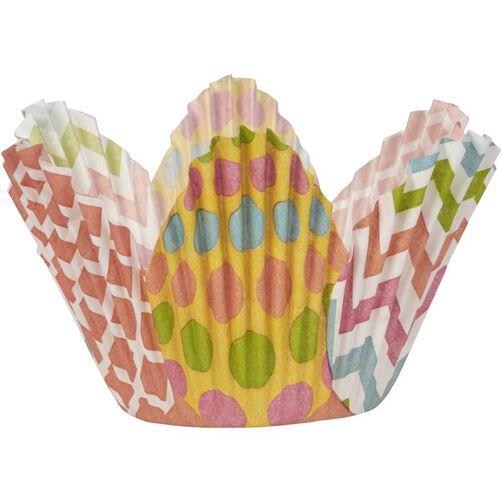Easter Egg Petal Cupcake Liners