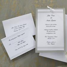 Simply Elegant Wedding Invitation Kit | Wilton