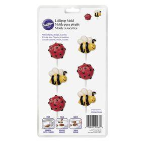 Wilton Lady Bug & Bumble Bee Lollipop Candy Mold