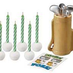 Golf Candle Set