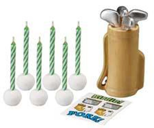 Golf Candle Set