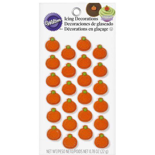 Wilton Mini Pumpkin Candy Decorations