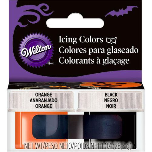 Halloween Icing Colors Set