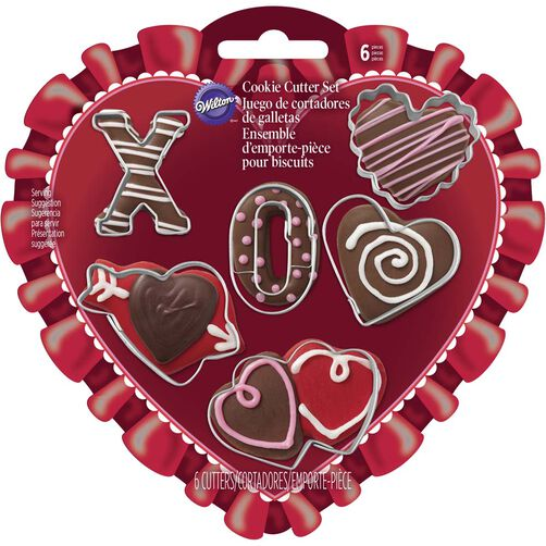Valentine's Day Mini Cookie Cutter Set
