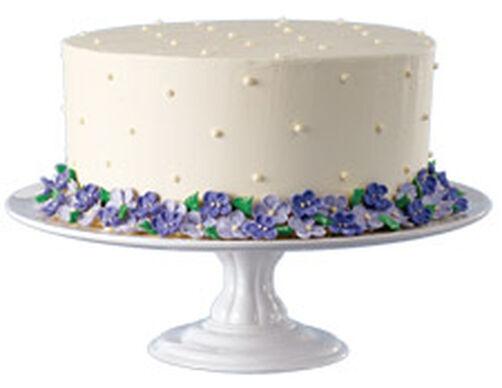 White Ceramic Pedestal Cake Stand