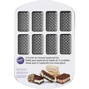 12-Cavity Ice Cream Sandwich Pan