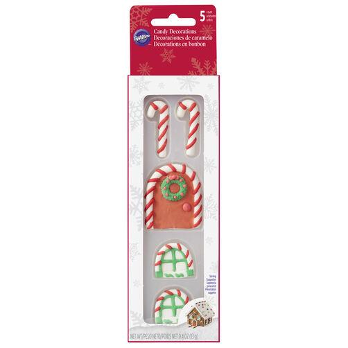 Door & Window Gingerbread House Decorating Candy