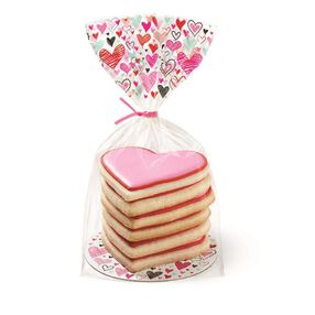 Wilton Valentine?s Day Doodles Cookie Treat Kit, 8-Ct.