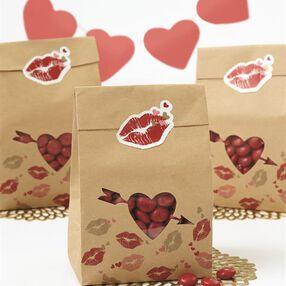 Wilton Kisses Treat Bags, 6-Count