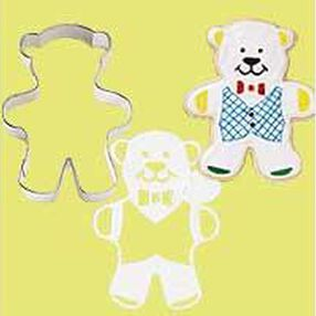 Bear Stencil-A-Cookie