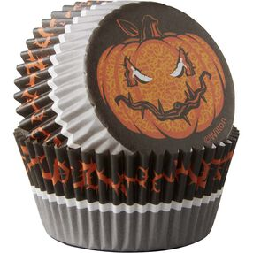 Wilton Halloween Jack-O-Lantern Standard Baking Cups