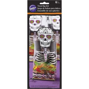 Deadly Soiree Skeleton Treat Bag Set