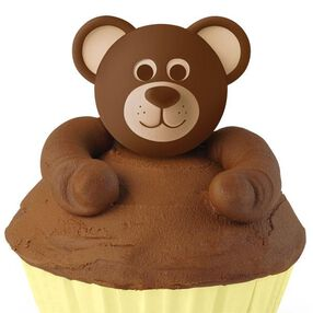 Teddy Bear Cupcake Topper