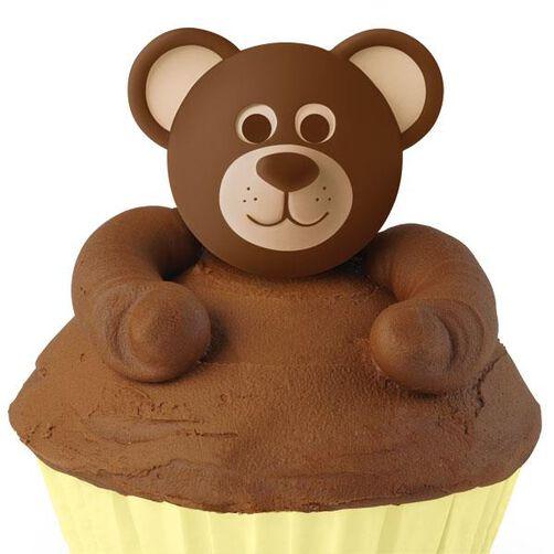 Teddy Bear Cupcake Topper