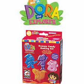 Dora the Explorer Gummy Making Kit