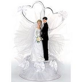 Sweetness Brown-haired Bride Figurine
