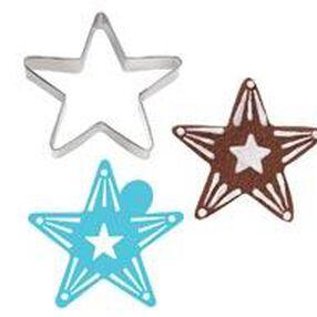 Star Stencil-A-Cookie