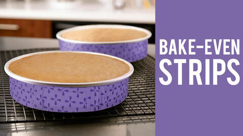6 Pc. Bake-Even Strip Set