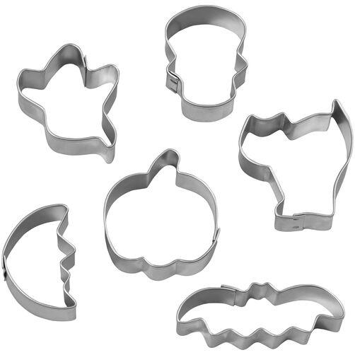 Mini-Coffin Metal Cookie Cutter Set, 6pc