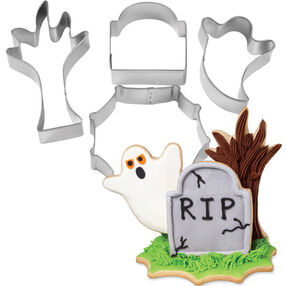3D Halloween Cookie Cutter Set