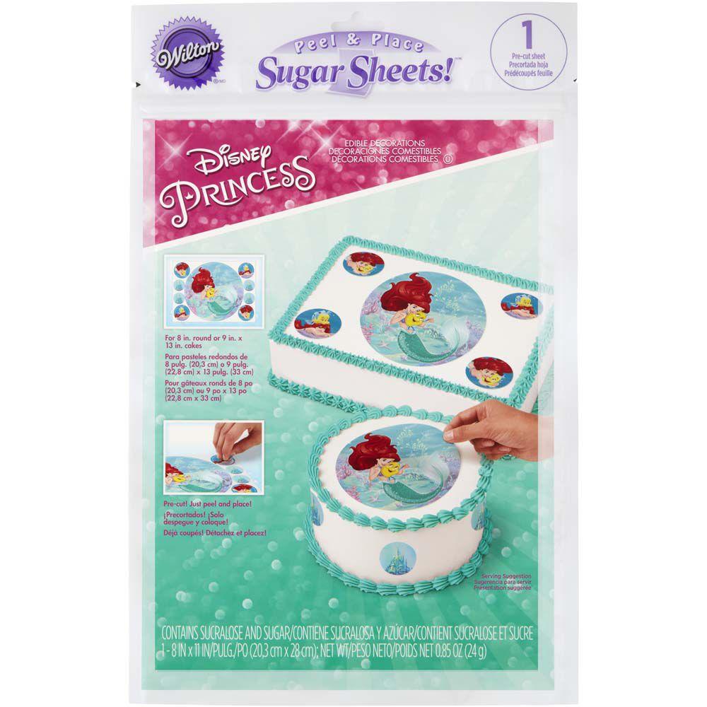 Cake Decorating Character Kits : Disney Princess Ariel Images Cake Decorating Kit Wilton