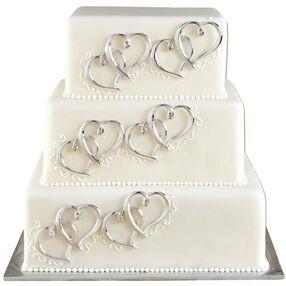 Heart Cake Decor