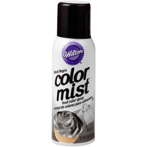 Color Mist Black Food Coloring Spray