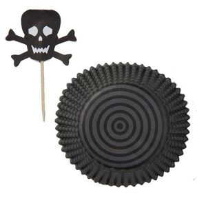 Skulls and Scroll Cupcake Combo Pack