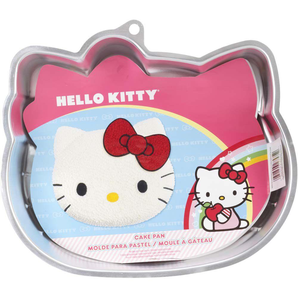 Wilton Hello Kitty Cake Pan Instructions