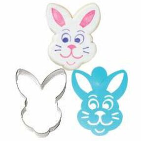 Easter Bunny Stencil-A-Cookie