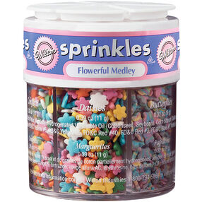 Flowerful Medley 6-Mix Sprinkle Assortment