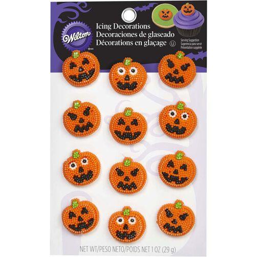 Wilton Jack-O-Lantern Candy Decorations
