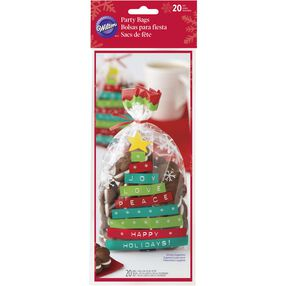 Happy Holidays Treat Bags