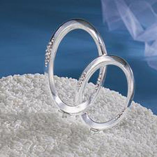 Infinity Rings Cake Pick